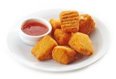 Fried Camembert Stock Photo