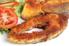 Fried carp Stock Image