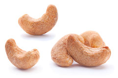 Fried cashew royalty free stock photo