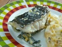 Fried catfish Stock Image