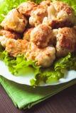 Fried cauliflower Royalty Free Stock Photo