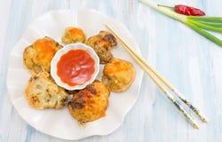 Fried cauliflower Stock Images