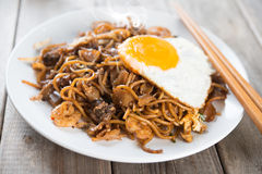 Fried Char Kway Teow Royaltyfria Bilder