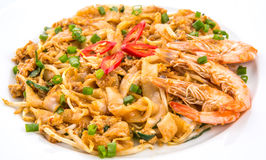 Fried Char Kway Teow V Royaltyfria Foton