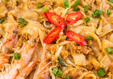 Fried Char Kway Teow VII Royaltyfria Foton