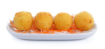 Fried cheese balls Stock Images
