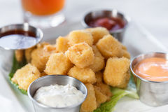 Fried Cheese Curds Royalty Free Stock Images