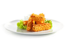 Fried Cheese Royalty Free Stock Photo