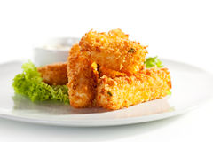 Fried Cheese Stock Photography