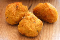 Fried Chick-Pea Balls Stock Image
