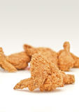 Fried chicken. Wing close-up Stock Images