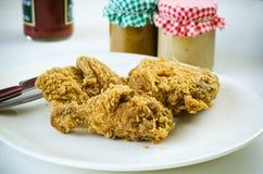 Fried Chicken Royaltyfri Bild