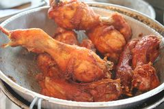 Fried chicken Stock Images