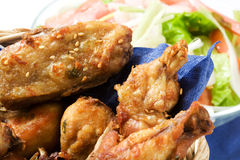 Fried chicken Stock Image