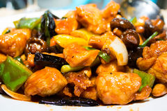 Fried Chicken-Acajoubaum Stockbild