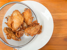 Fried chicken appetizer Royalty Free Stock Image