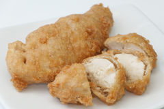 Fried chicken in batter Royalty Free Stock Photography
