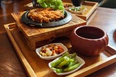 Fried Chicken Chop fotos de stock