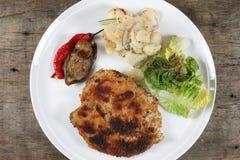 Fried Chicken Chop imagem de stock