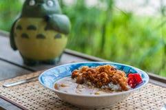 Fried Chicken Curry du Japonais Photos libres de droits