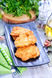 Fried chicken cutlets Royalty Free Stock Photography