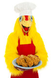 Fried Chicken Dinner Royalty Free Stock Image