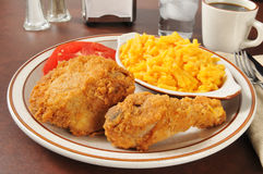 Fried chicken dinner Stock Photography