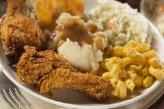 Fried Chicken do sul caseiro Imagem de Stock