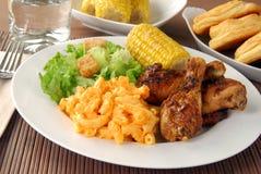 Fried chicken drumsticks Stock Image