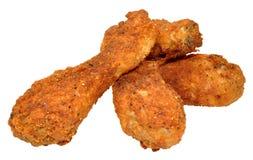 Fried Chicken Drumsticks del sud Fotografia Stock Libera da Diritti