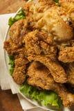 Fried Chicken du sud fait maison Images stock