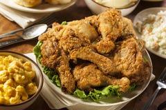 Fried Chicken du sud fait maison Photos stock
