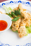 Fried chicken fingers Royalty Free Stock Photos
