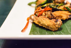 Fried Chicken. Fried Chicken of Thai food Stock Photography