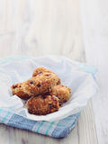 Fried Chicken Fritters royalty-vrije stock foto