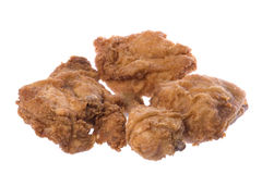 Fried Chicken Isolated Stock Image