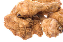 Fried Chicken Isolated Royalty Free Stock Photo