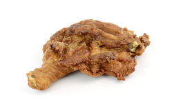 Fried Chicken Isolated on white background Stock Photo