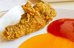 Fried chicken legs Royalty Free Stock Photography