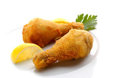 Fried chicken legs Stock Images