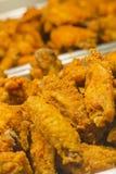 Fried Chicken Legs Wings Foto de Stock