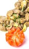 Fried Chicken Liver Dish profondo VII Fotografia Stock