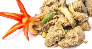 Fried Chicken Liver Dish profondo VIII Immagine Stock