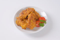 Fried chicken meat Royalty Free Stock Photography