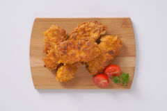 Fried chicken meat Stock Photo