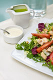 Fried chicken salad Royalty Free Stock Photography
