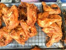 Fried chicken. Stock Photo