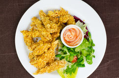 Fried Chicken Strips Royalty Free Stock Image