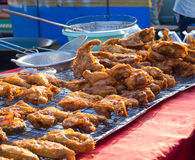 Fried chicken. At Thailand market Royalty Free Stock Image