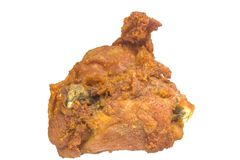 Fried Chicken Thigh croccante fotografia stock